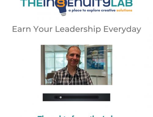 Earn Your Leadership Everyday