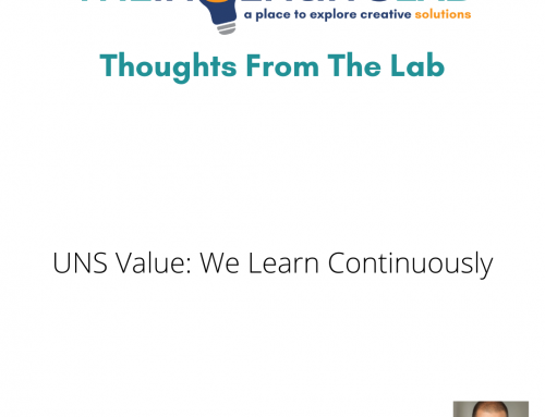 Thriving Together Leader Edition: We Continuously Learn – UNS Value